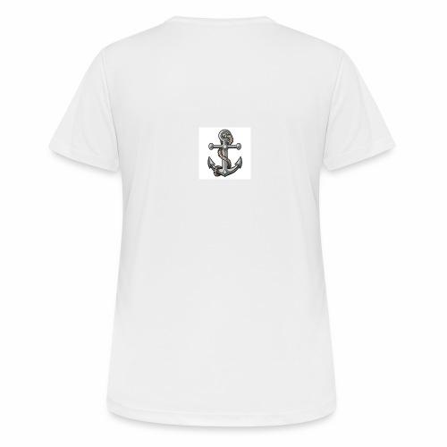 tatuaggio ancora - Maglietta da donna traspirante