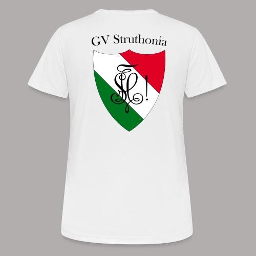 Wappen Struthonia beschriftet - Frauen T-Shirt atmungsaktiv