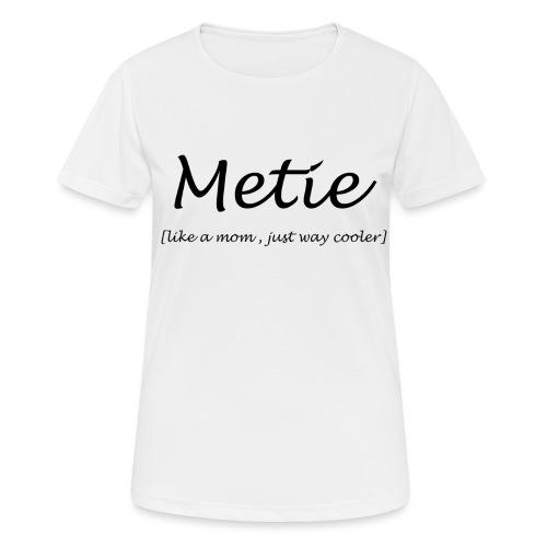 Metie - Vrouwen T-shirt ademend actief