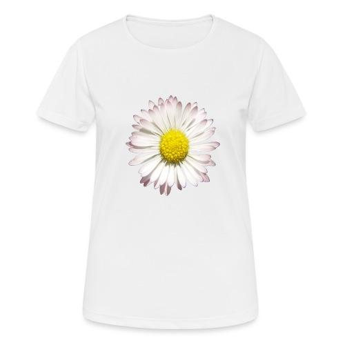 TIAN GREEN - Gänse Blümchen - Frauen T-Shirt atmungsaktiv