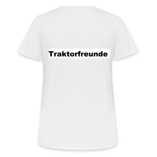Traktorfreunde - Frauen T-Shirt atmungsaktiv