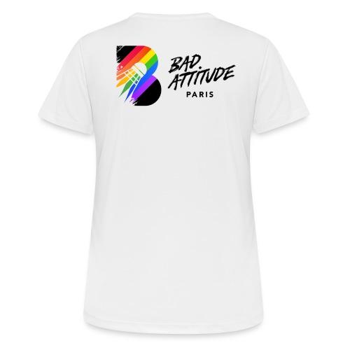 New Logo de BAd Attitude - T-shirt respirant Femme