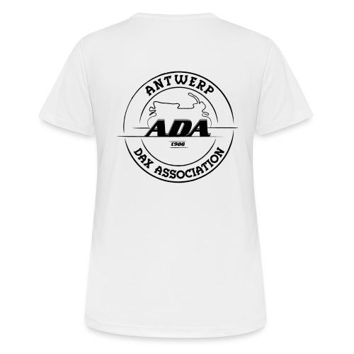ADA DAX Logo Groot Zwart - Vrouwen T-shirt ademend actief