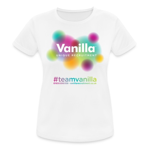 Vanilla Tshirt 02 - Women's Breathable T-Shirt