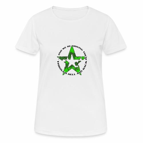 ra star slogan slime png - Frauen T-Shirt atmungsaktiv