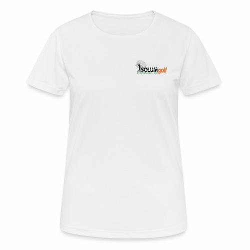 Solum Golf fullfarge - Pustende T-skjorte for kvinner