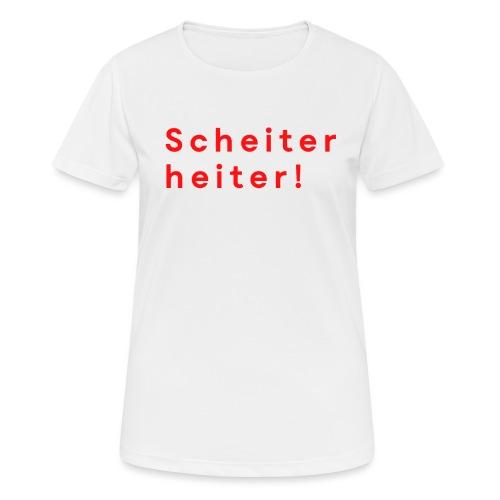Improtheater Konstanz Print 2 - Frauen T-Shirt atmungsaktiv