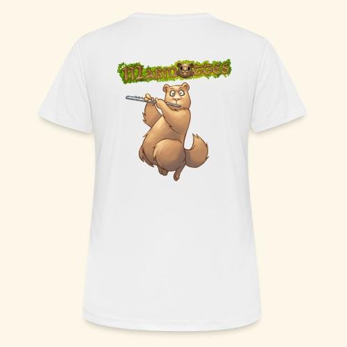Tshirt Flute dos 2 - T-shirt respirant Femme