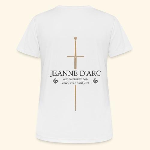 Jeanne d arc dark - Frauen T-Shirt atmungsaktiv
