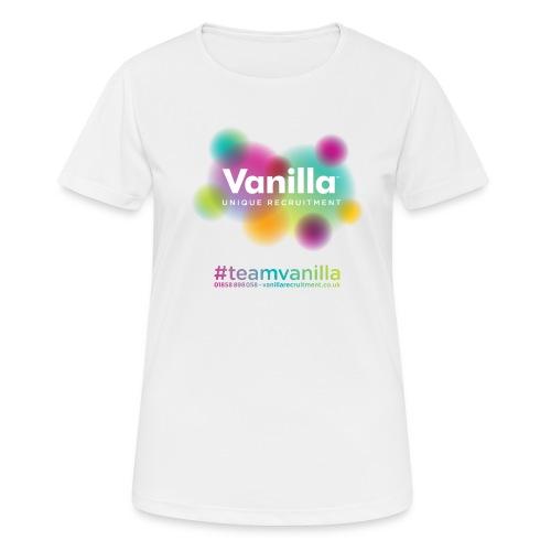 Vanilla Tshirt 02 - Women's Breathable T-Shirt