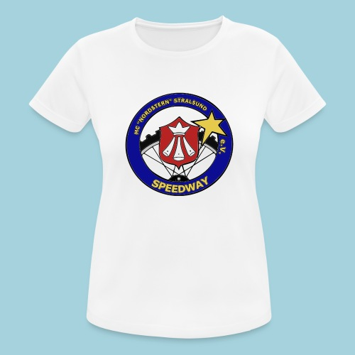 MCN Logo beidseitig - Frauen T-Shirt atmungsaktiv