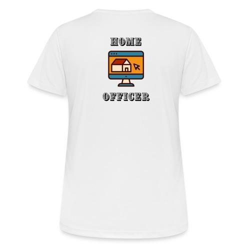 HOME-OFFICER 2 - Frauen T-Shirt atmungsaktiv