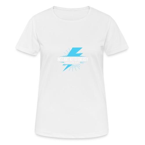 instantketoenergy - Frauen T-Shirt atmungsaktiv