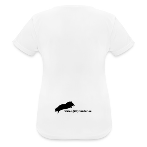 Agilityhundar.se logga - Andningsaktiv T-shirt dam