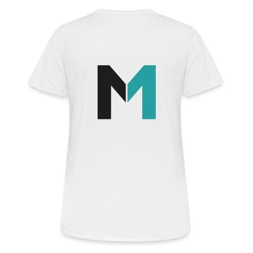 Logo M - Frauen T-Shirt atmungsaktiv