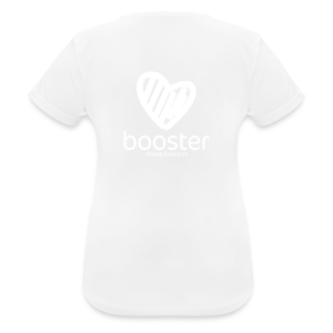 All White - Women's Breathable T-Shirt