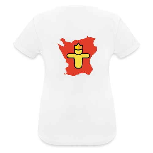 Turf Skåne symbol - Andningsaktiv T-shirt dam