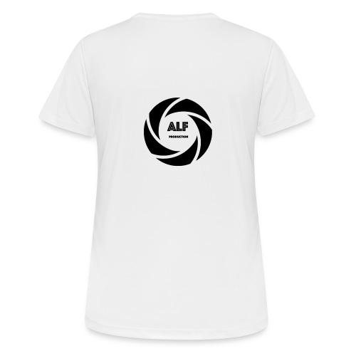 Logo Nero - Maglietta da donna traspirante