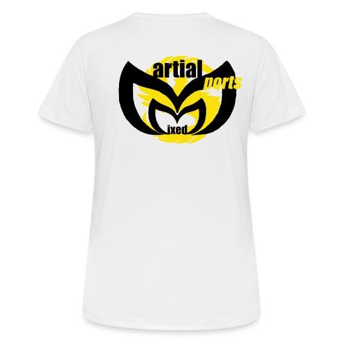 MixedMArtialsportsCHD2 png - T-shirt respirant Femme