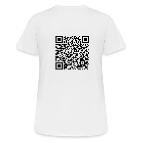 static qr code without logo2 png - Maglietta da donna traspirante