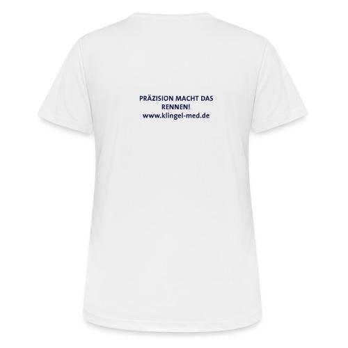 Laufshirt Klingel medical metal - Frauen T-Shirt atmungsaktiv