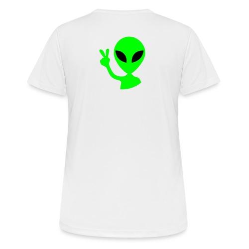 Peace out Alien - Women's Breathable T-Shirt