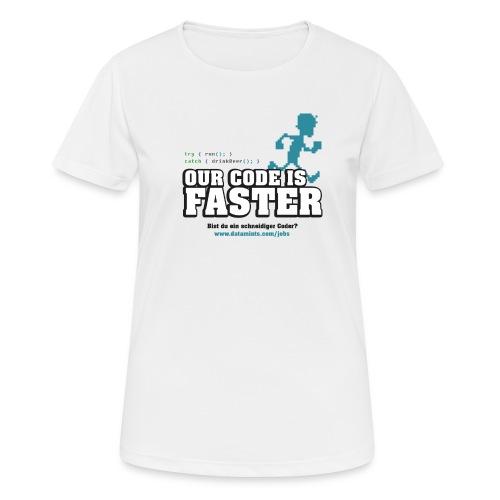 datamints Firmenlauf Trikot VS04 psd png - Frauen T-Shirt atmungsaktiv