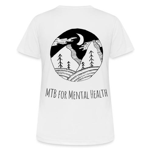 MTB for Mental Health - Women's Breathable T-Shirt