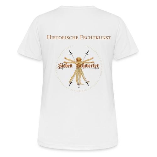 7 Schwerter - Frauen T-Shirt atmungsaktiv