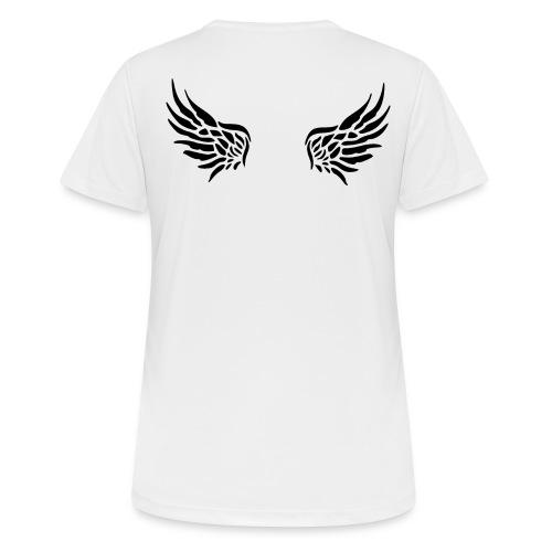 Nicht alle Engel werden als solche geboren! - Frauen T-Shirt atmungsaktiv