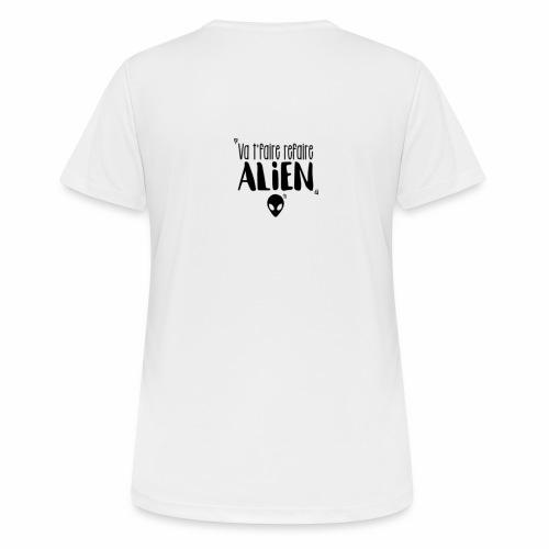 Va te faire refaire ALIEN - T-shirt respirant Femme