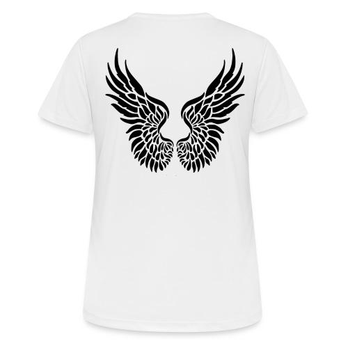 Flügel und Engel - Frauen T-Shirt atmungsaktiv
