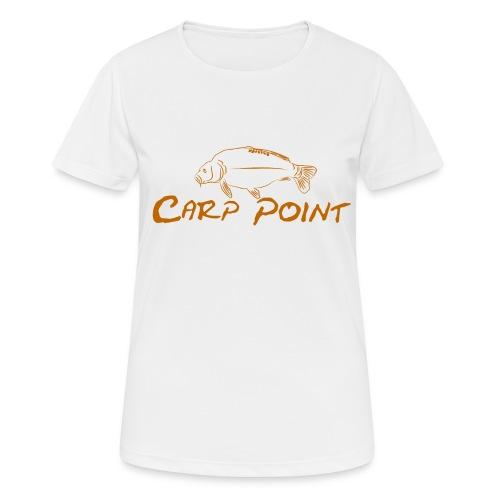 Carp-Point-orange-big - Frauen T-Shirt atmungsaktiv