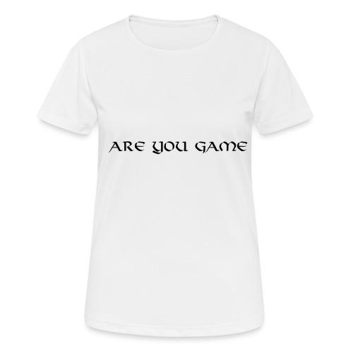 Slogan png - Dame T-shirt svedtransporterende