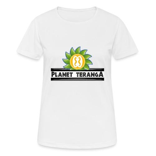 T shirt historique Planet T - T-shirt respirant Femme
