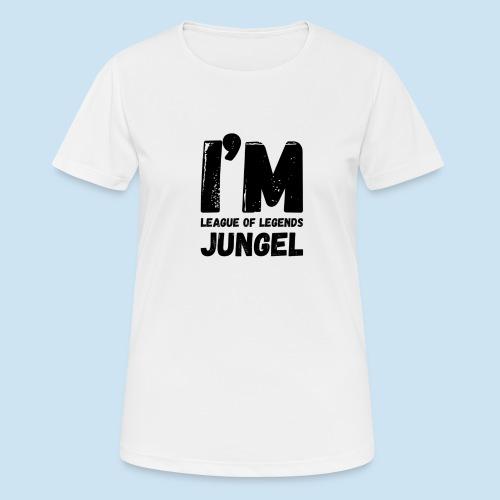 I'm Jungel Main - Pustende T-skjorte for kvinner