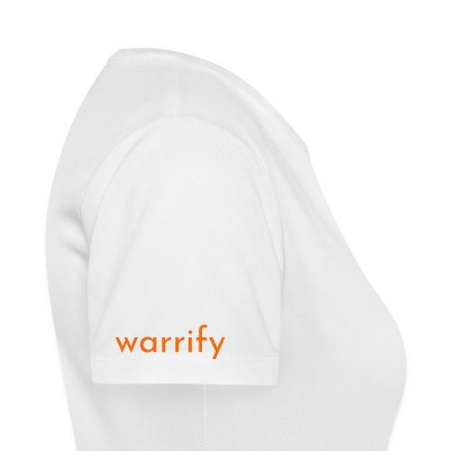 warrify - Frauen T-Shirt atmungsaktiv