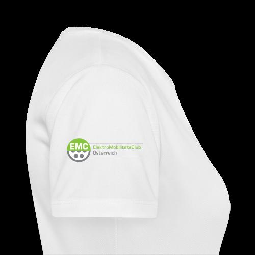 ElektroMobilitätsClub Logo - Frauen T-Shirt atmungsaktiv