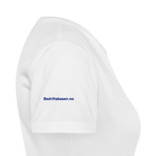 Bedriftsbasen.no logo - Pustende T-skjorte for kvinner