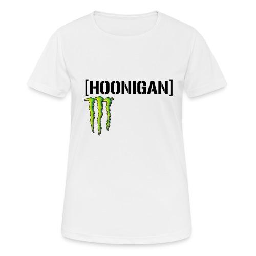 monster energy hoonigan - Andningsaktiv T-shirt dam