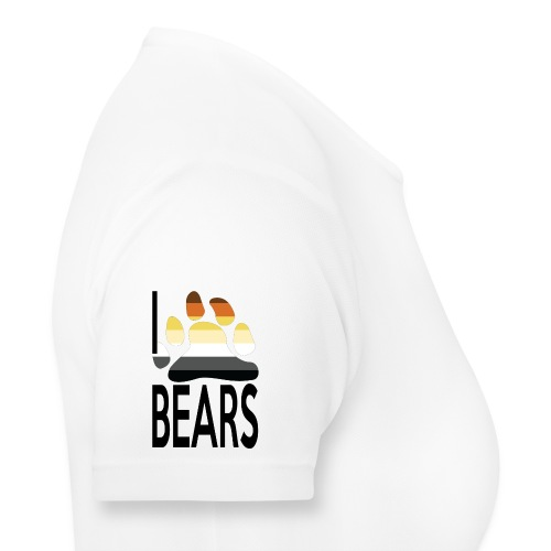 I love bears - T-shirt respirant Femme