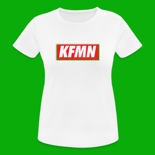 -KFMN- Boxed Design - Frauen T-Shirt atmungsaktiv