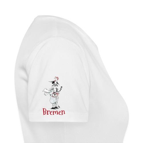 Bremer Stadtmusikanten - Frauen T-Shirt atmungsaktiv