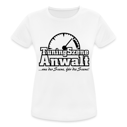 TuningSzeneAnwalt - Frauen T-Shirt atmungsaktiv