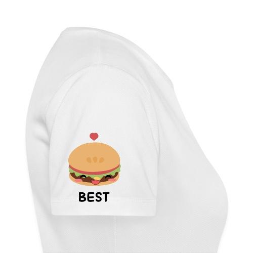 hamburger - Maglietta da donna traspirante