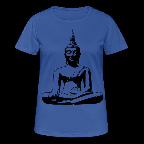 Boeddha beeld - vrouwen T-shirt ademend