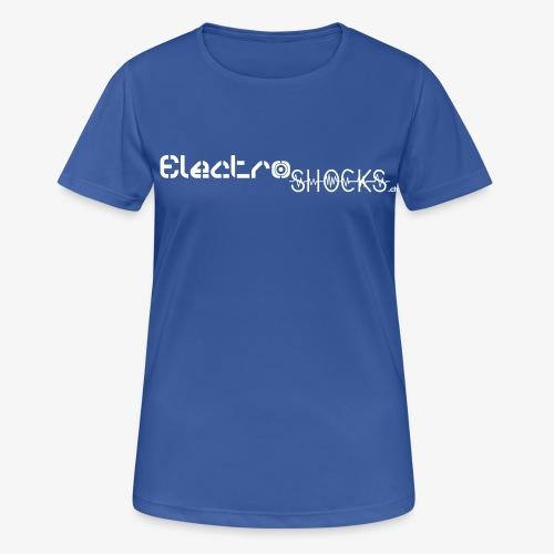 ElectroShocks BW siteweb - T-shirt respirant Femme