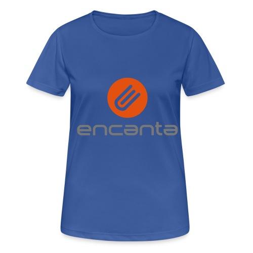 Encanta_Logo_Vector - Camiseta mujer transpirable