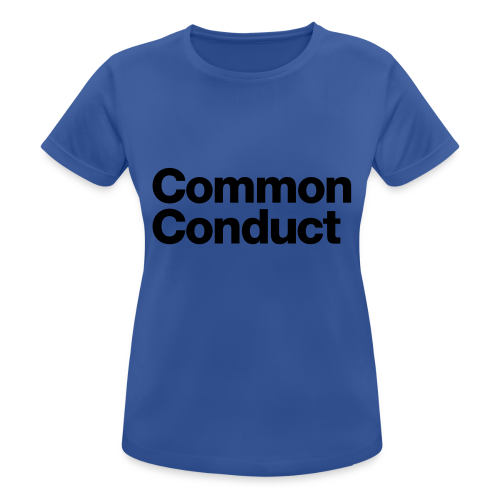 Common Sports - Women's Breathable T-Shirt