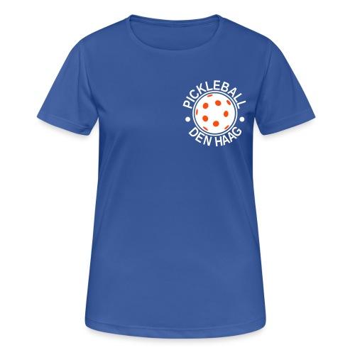Pickleball Den Haag Logo - Women's Breathable T-Shirt